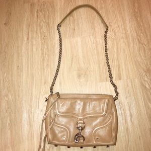 Rebecca Minkoff Large Tan Mac Bag